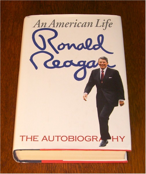 Ronald Reagan signed First Edition <i>An American Life</i> with in book signature