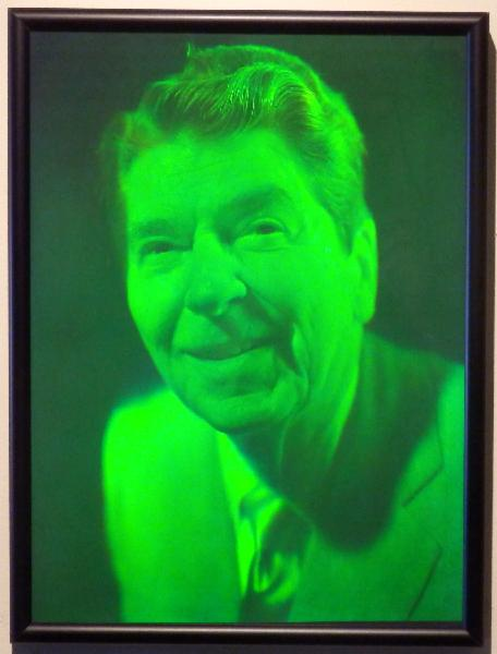 Rare Hologram of President Ronald Reagan