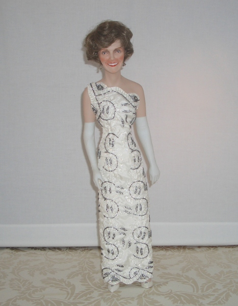 Nancy Reagan Signed Doll